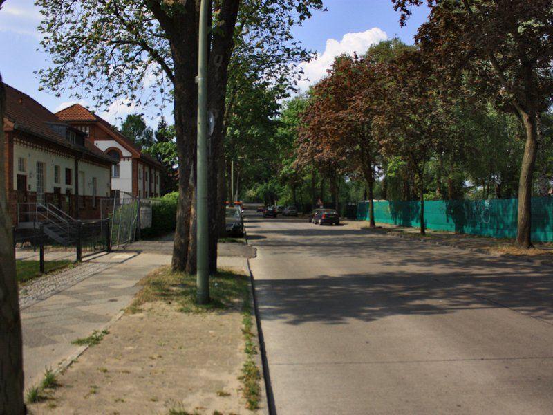 Sandhauser Straße Richtung Brücke