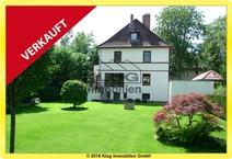 Hermsdorf! Top modernisierte 1 bis 3 Familienhaus-Altbauvilla mit traumhaftem Sonnengarten
