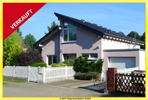 Glienicke! Komfortable Einfamilienhausvilla mit Kamin und Saunabereich in Bestlage