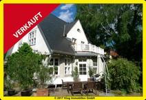 Liebhaberobjekt in Frohnau! Denkmalgeschützte Einfamilienhausvilla mit Charme