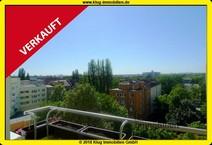 Reinickendorf! Helle 4 Zimmer Etagenwohnung mit Sonnenbalkon und herrlicher Aussicht