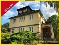 Hermsdorf! Ansprechendes Mehrfamilienhaus mit einer bezugsfreien Wohnung u. drei Garagen