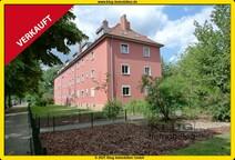 Borsigwalde! Elegante helle Dachgeschoss-Maisonettwohnung mit Kamin u. Garten