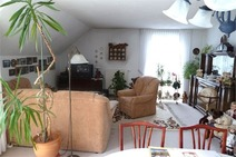 4 Zimmer DG-Wohnung mit Terrasse und Tiefgaragenstellplatz