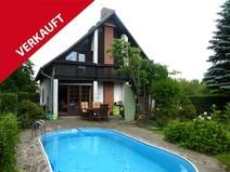Velten ! Großes Einfamilienhaus mit Pool, Vollkeller, Garage u. Carport