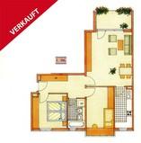 Schönfließ ! Gut ausgestattete 3 Zimmer Neubauwohnung mit Balkon u. Tiefgaragenstellplatz