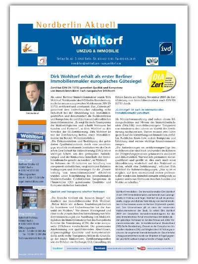 Kundenzeitung Winter 2010