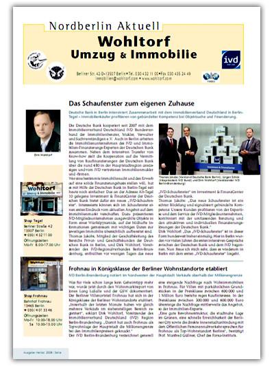 Kundenzeitung Herbst 2008