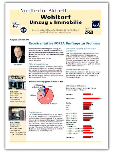 Kundenzeitung Sommer 2008